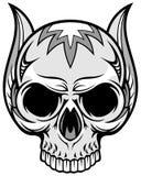 Художнический череп 70 Стоковое Фото