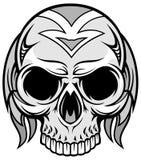 Художнический череп 71 Стоковое фото RF