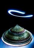 Художническое изображение старой азиатской шляпы Стоковые Изображения RF