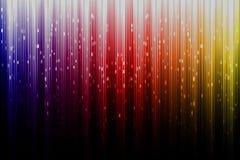Художническое цифровое северное сияние Стоковое фото RF