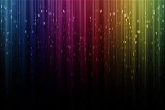Художническое цифровое северное сияние Стоковое Изображение