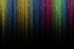 Художническое цифровое северное сияние Стоковое Фото