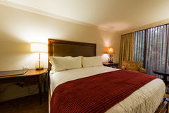 Хьюстон - 13-ое декабря 2013: Гостиница Houstonian дальше Стоковое Изображение
