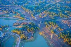 Хьюстон пригородный стоковые изображения rf