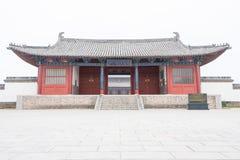 ХЭНАНЬ, КИТАЙ - 17-ое ноября 2015: Академия Yingtian на Shangqiu старом стоковая фотография