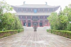 ХЭНАНЬ, КИТАЙ - 17-ое ноября 2015: Висок Zhang Xun на Shangqiu старом стоковое фото rf