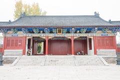 ХЭНАНЬ, КИТАЙ - 17-ое ноября 2015: Усыпальница Suiren (Suihuangling) на Shangqi стоковая фотография rf