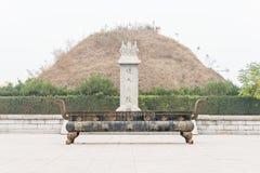 ХЭНАНЬ, КИТАЙ - 17-ое ноября 2015: Усыпальница Suiren (Suihuangling) на Shangqi стоковое фото rf