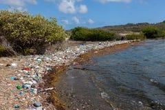 Хлам - взгляды вокруг острова Curacao карибского стоковая фотография