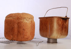 хлебец и ведро Хлеб-создателя Стоковые Изображения RF
