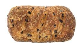 Хлебец хлеба streusel голубики на белой предпосылке Стоковые Фото