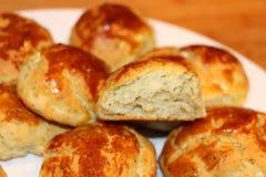 Хлебопекарня в плите Стоковые Фото