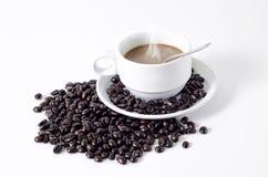 Хлебопекарня кофе Стоковое Изображение