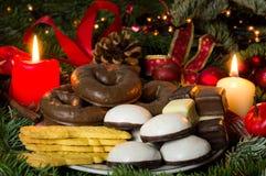 Хлебопекарня рождества Стоковые Изображения