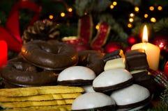 Хлебопекарня рождества Стоковые Фото