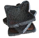 3 хлебца, который сгорели здравицы хлеба Стоковая Фотография RF