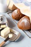 2 хлебца хлеба Стоковые Изображения
