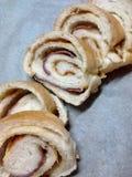 Хлебцы ветчины и сыра Стоковое Изображение RF