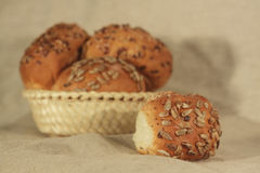 хлебцы малые Стоковые Фотографии RF