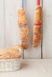 Хлебы багета Стоковая Фотография