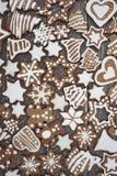 Хлебы имбиря рождества Стоковое Фото