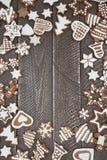 Хлебы имбиря рождества Стоковая Фотография RF
