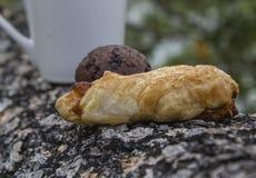 Хлеб, ананас Стоковое Изображение