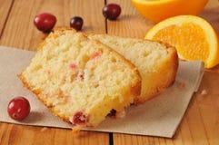 Хлеб апельсина клюквы Стоковая Фотография RF