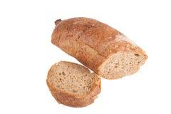 хлеб багета изолированный на белой предпосылке Стоковая Фотография RF