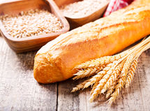 хлеб багета свежий Стоковое фото RF