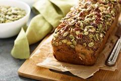 Хлеб банана здоровой клейковины свободный Стоковая Фотография RF