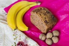 Хлеб банана Стоковая Фотография