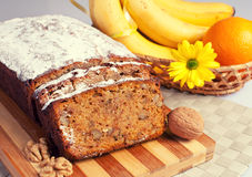 Хлеб банана Стоковые Фотографии RF