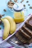 Хлеб банана Стоковая Фотография RF