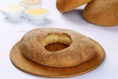 Хлеб бейгл пшеницы Стоковые Фотографии RF