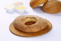 Хлеб бейгл пшеницы Стоковые Изображения RF