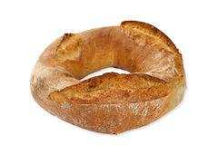 Хлеб бейгл пшеницы Стоковые Изображения