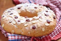 Хлеб венка плодоовощ Стоковые Фотографии RF