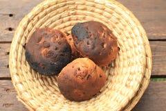 Хлеб в корзине Стоковое Изображение