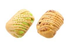 Хлеб заполненный с завалкой таро Стоковые Фотографии RF
