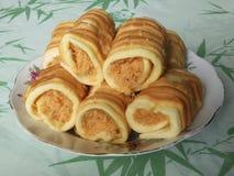 Хлеб зубочистки свинины стоковые изображения rf