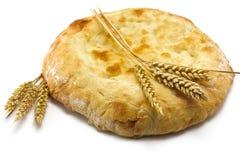 Хлеб и колоски пита Стоковые Изображения