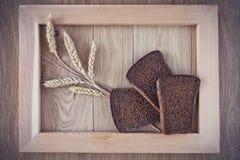 Хлеб и колоски Стоковое фото RF