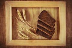 Хлеб и колоски Стоковые Фотографии RF