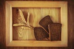 Хлеб и колоски Стоковое Изображение