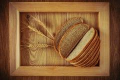 Хлеб и колоски Стоковые Фото
