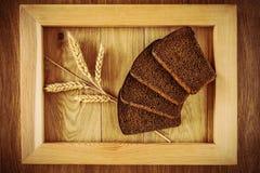 Хлеб и колоски Стоковое Изображение RF
