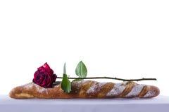 Хлеб и поднял Стоковая Фотография