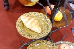 Хлеб и плодоовощ Стоковая Фотография RF