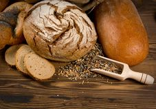Хлеб и плюшки Стоковое фото RF